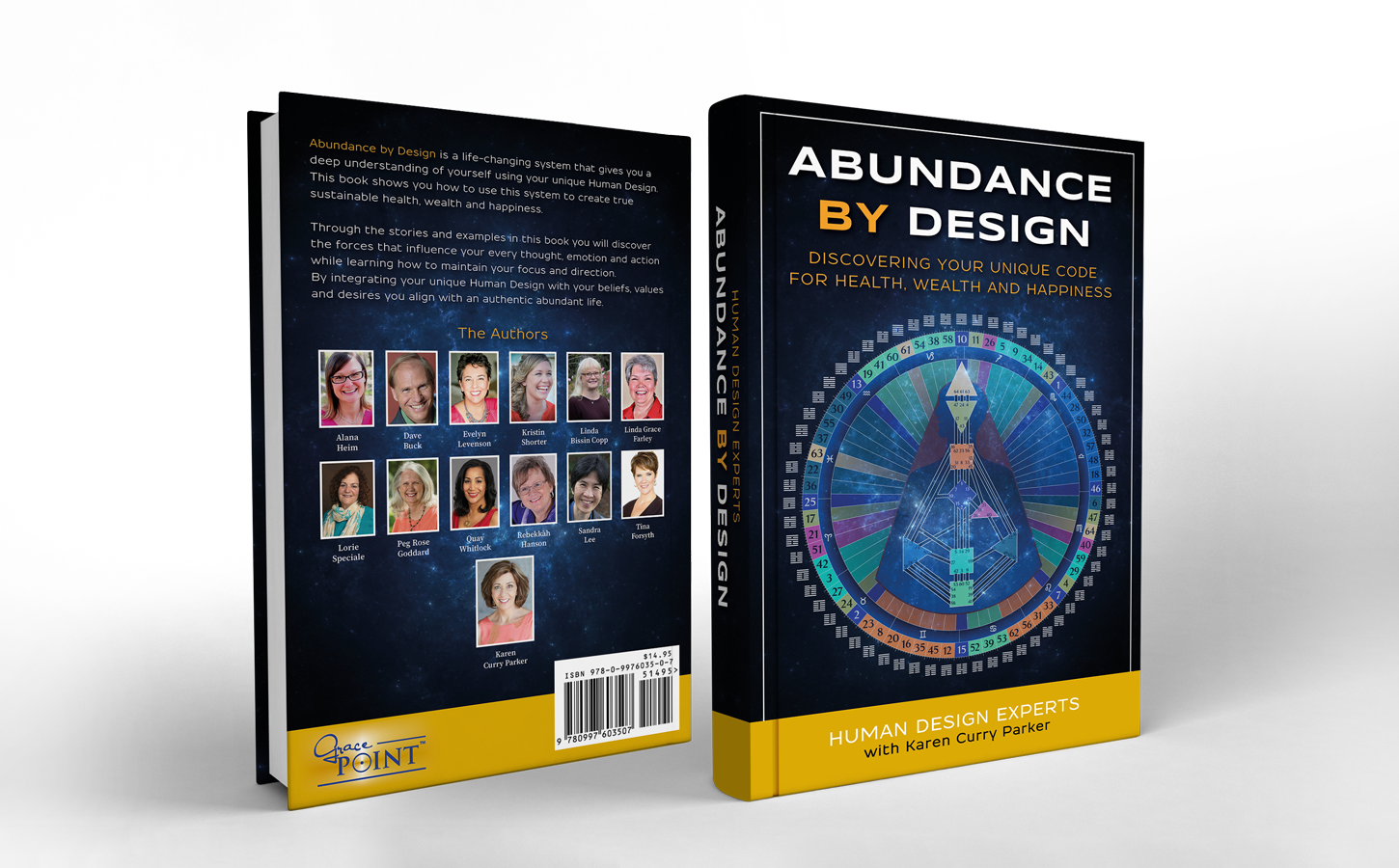 Human Design Experts contributing to Abundance By Design book